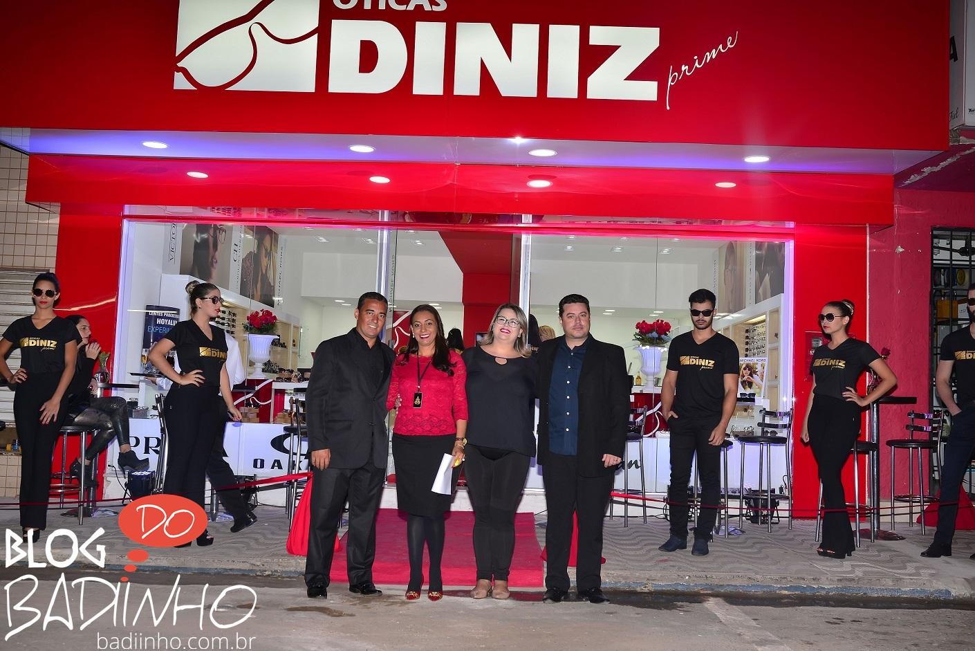 """684862ff3c929 COBERTURAS  inauguração da """"Óticas Diniz Prime"""" – Blog do Badiinho"""