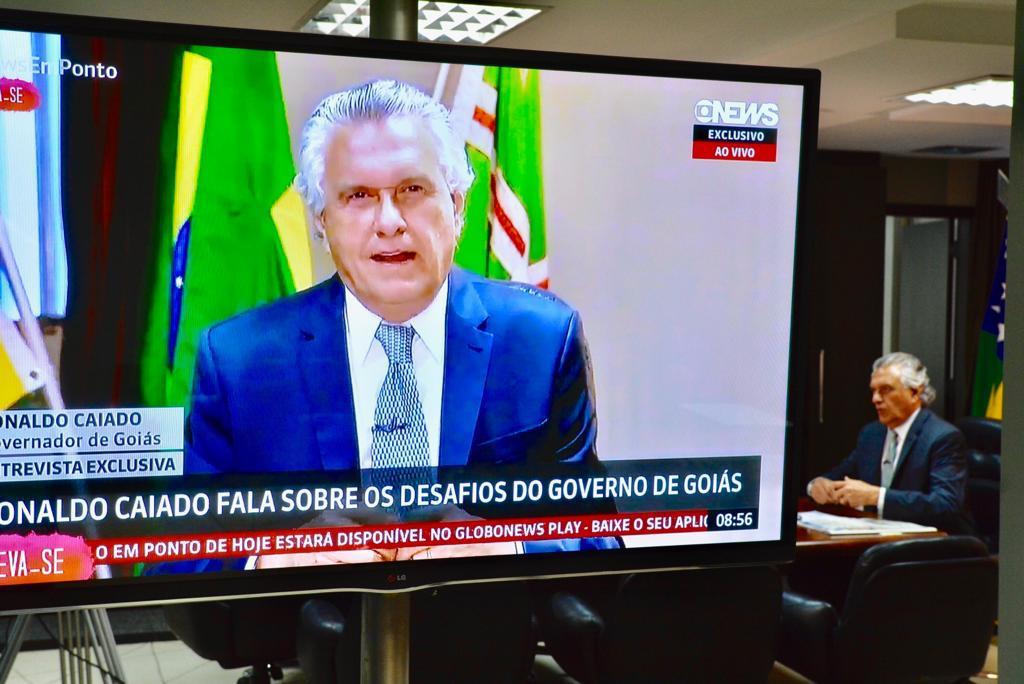 Resultado de imagem para Caiado aponta falta de sensibilidade da gestão anterior e afirma que Goiás será o Estado mais seguro do país
