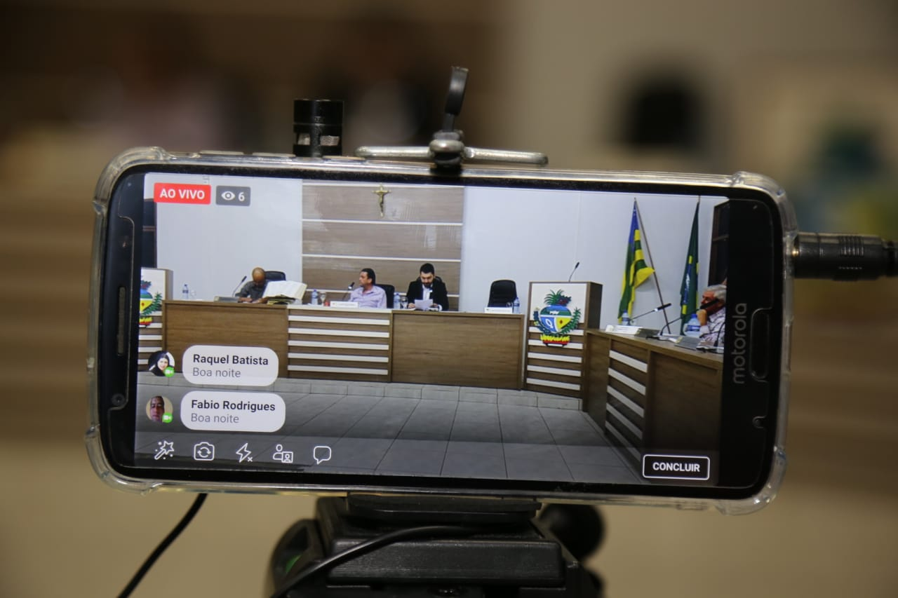 AO VIVO: SESSÃO LEGISLATIVA DE OUVIDOR