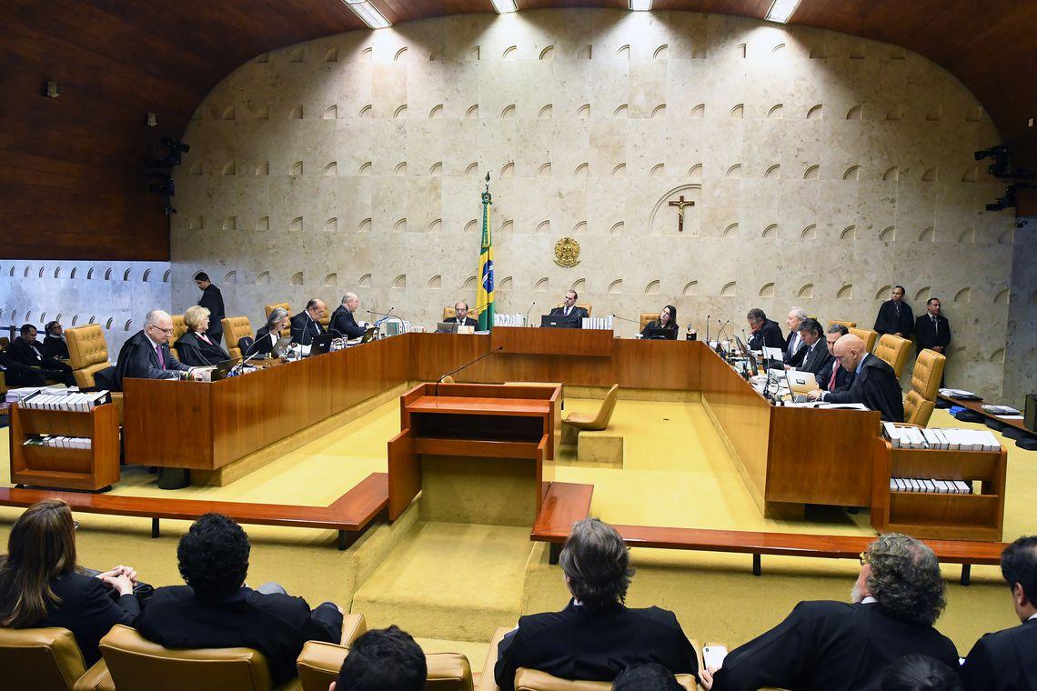 STF DERRUBA VALIDADE DE PRISÃO APÓS 2ª INSTÂNCIA