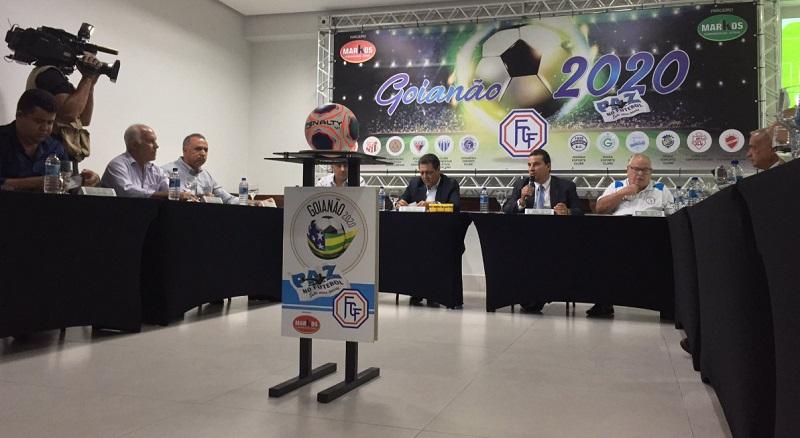 """DEFINIDO O CAMPEONATO GOIANO 2020; CRAC DE CATALÃO ESTÁ NO GRUPO """"B"""" JUNTO COM GOIÁS E GOIÂNIA"""