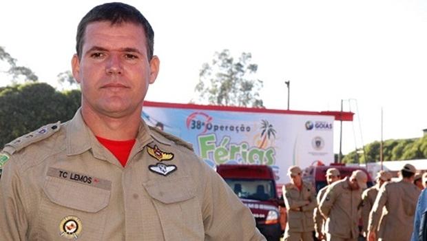 CORONEL ESMERALDINO LEMOS, EX-COMANDANTE EM CATALÃO, FOI EFETIVADO NO COMANDO GERAL DO CORPO DE BOMBEIROS DE GOIÁS