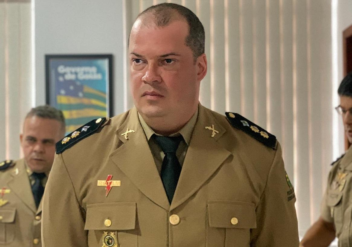 TENENTE CORONEL CARVALHO, EX-COMANDANTE DA PM DE CATALÃO, VAI COMANDAR O BATALHÃO DA POLÍCIA RURAL DA PMGO