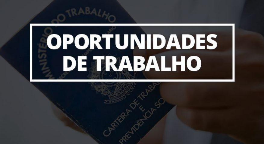 OPORTUNIDADE DE EMPREGO; VEJA NO BLOG DO BADIINHO AS 47 VAGAS OFERTADAS PELA SETRAER NESTA QUARTA-FEIRA (29/01)