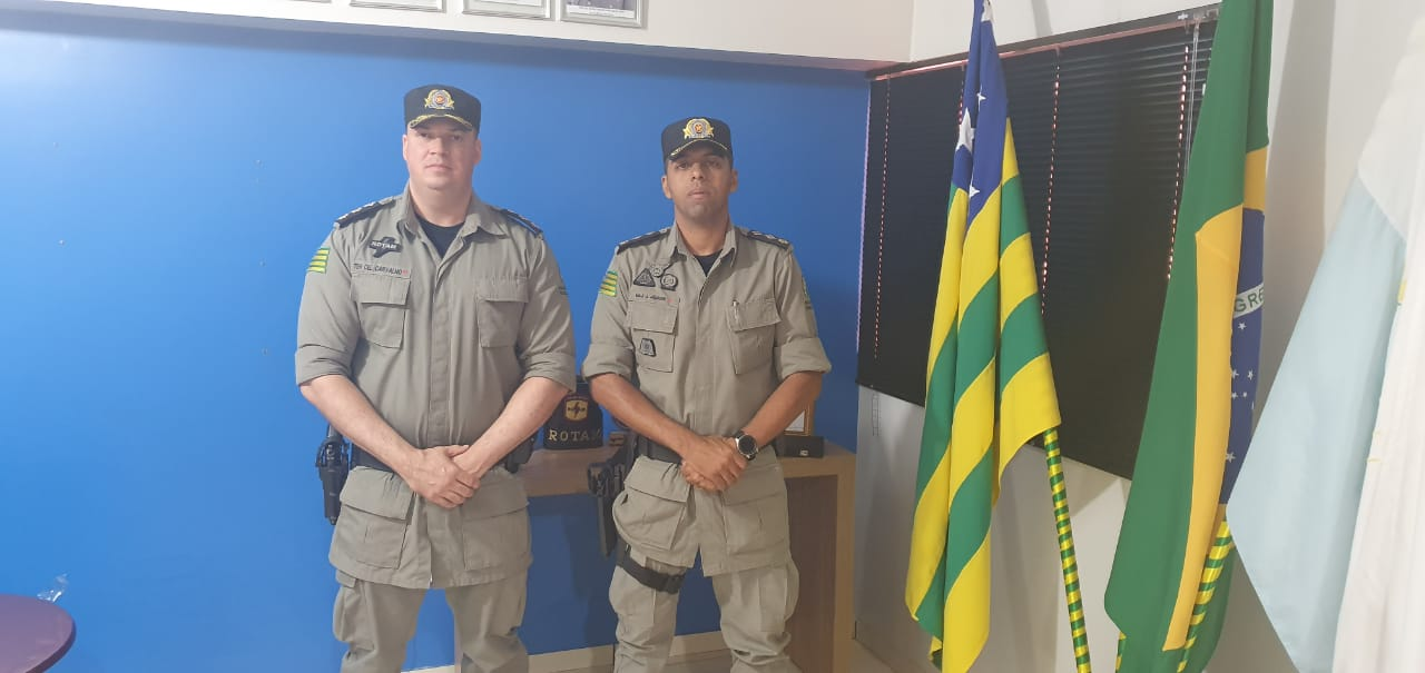 AGORA É OFICIAL: REALIZADA TROCA DE COMANDO NO 18º BATALHÃO DE POLÍCIA MILITAR DE CATALÃO