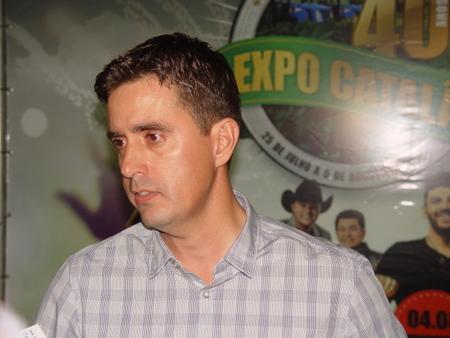 """""""MUITAS SERÃO AS NOVIDADES NA EXPO CATALÃO DESTE ANO"""", AFIRMA RENATO RIBEIRO, PRESIDENTE DO SINDICATO RURAL"""