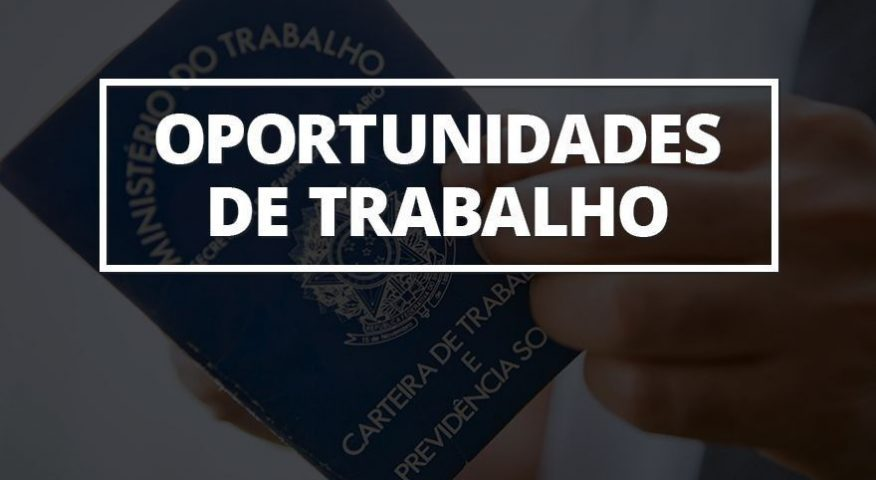 VEJA NO BLOG DO BADIINHO AS 26 VAGAS OFERTADAS PELA SETRAER NESTA SEGUNDA-FEIRA (16/03)