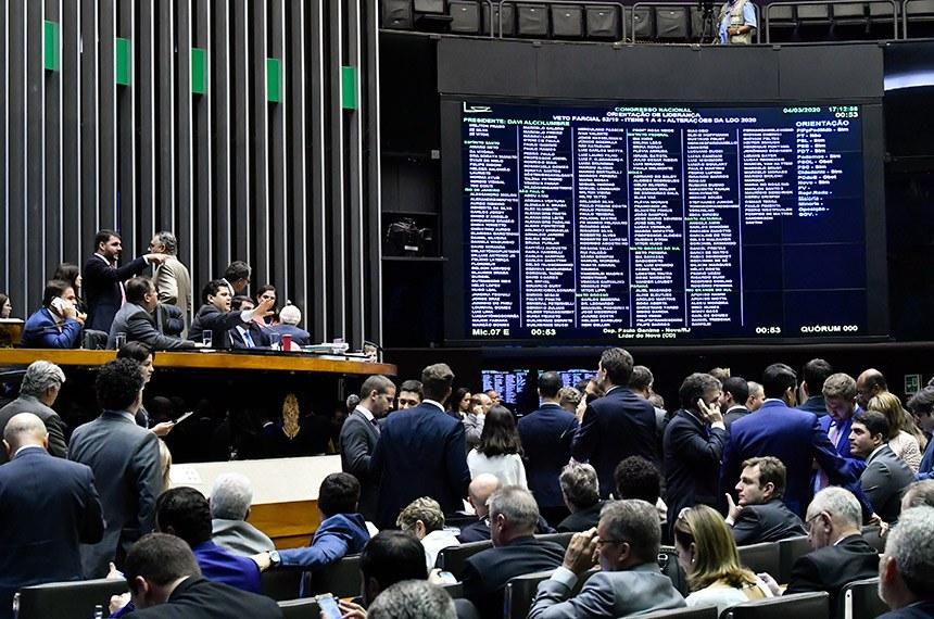 VETO 52: CONGRESSO DECIDE MANTER O VETO DOS R$ 30 BILHÕES DO ORÇAMENTO IMPOSITIVO