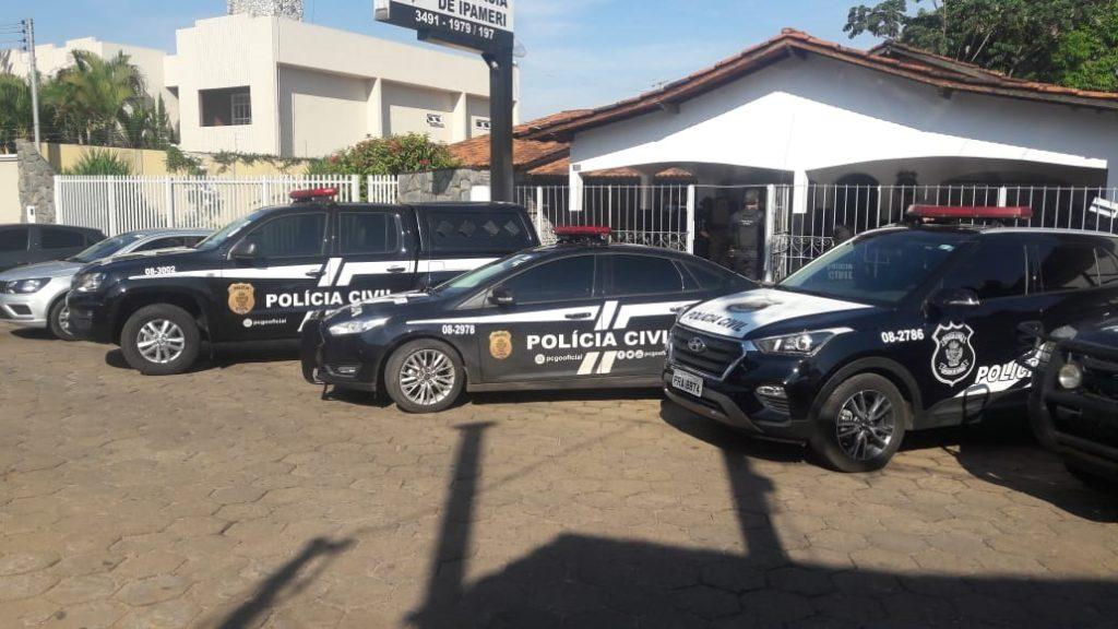 IPAMERI: POLÍCIA CIVIL PRENDE EM FLAGRANTE, SUSPEITO DE ROUBO QUALIFICADO