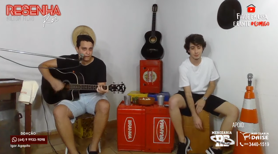 JOVENS TALENTOS DE CUMARI-GO FAZEM LIVE DE 5 HORAS NO YOUTUBE E ARRECADAM INÚMERAS DOAÇÕES