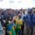 PRESIDENTE BOLSONARO ESTÁ EM ARAGUARI-MG; PRESIDENTE FEZ POUSO NO POSTO DA PRF NA BR-050