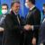 """Em 1º encontro pós-conflitos, Bolsonaro chama ministros do STF de """"amigos"""""""